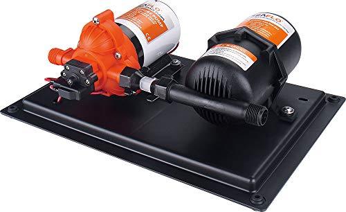 lighteu®, SEAFLO 3.0GPM / 11.3LPM Pumpe mit integriertem Speicher