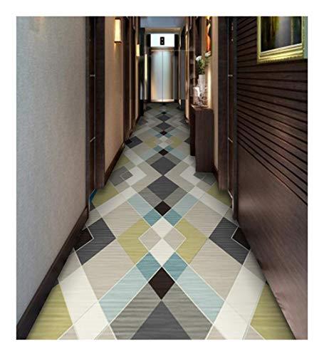 Ditan CnCnCn Home Aisle Carpet Corridor Entrance Bedroom Coffee Table Mat Non-Slip (Color : B, Size : 80x550cm)