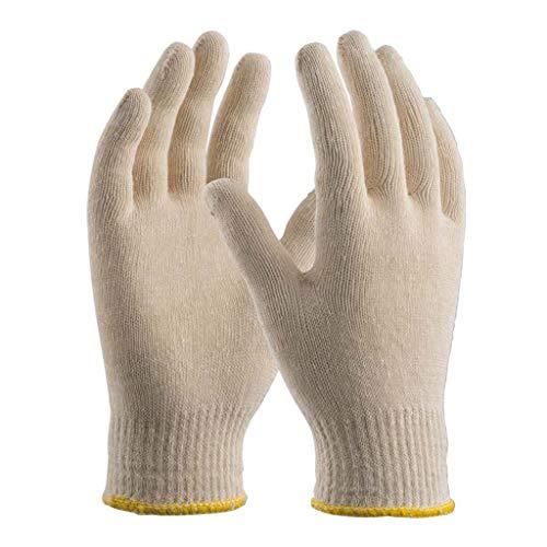 guanti cotone Orma Confezione da 12 Paia di Guanti in Filo Continuo 100% Cotone
