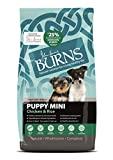 Burns Pet Nutrition Hypoallergenic Complete Dry Dog Food Puppy Mini Chicken and Rice 2 kg