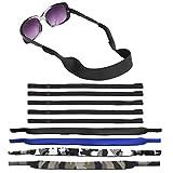 SENHAI 4 Stück Wasserdicht Sonnenbrille Strap mit Schwimmen Tauchen Schwimmend Neopren-Material und...