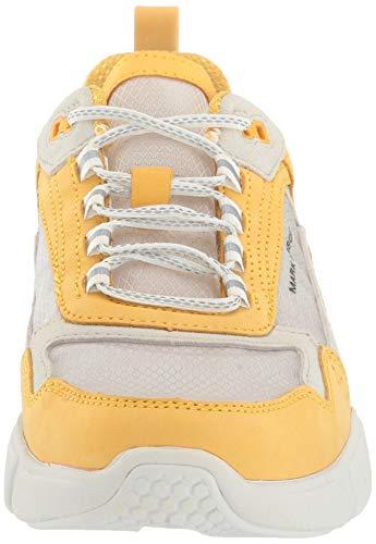 Skechers Block - West, Zapatillas Mujer, Amarillo, 40 EU