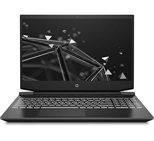 HP Gaming Pavilion 15-ec0005ns - Ordenador portátil de 15.6' FHD (AMD Ryzen 5 3550H, 8 GB RAM, 512 GB SSD, gráficos NVIDIA GeForce GTX 1050-3G, Sin sistema operativo) negro - Teclado QWERTY Español