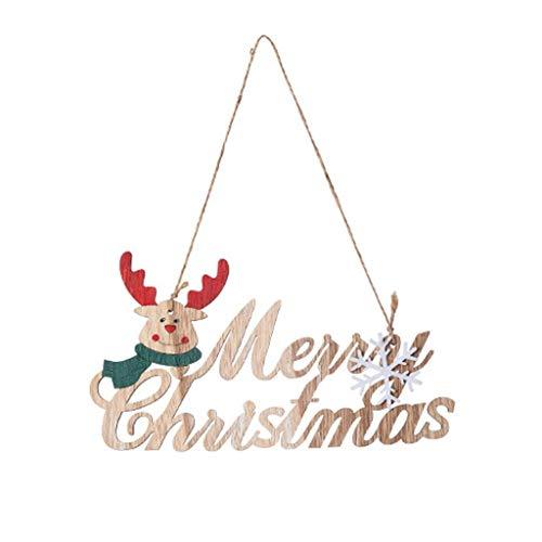 Higlles Weihnachtsmann Aus Holz Anhänger Hausdekoration Weihnachten Dekoration Frohe Weihnachten Klassisch Dekorationen