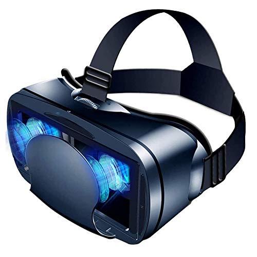 MOZUN Weitwinkel-VR-Brille, 3D-Virtual-Reality-Vollbildbrille, geeignet für 5-7 Zoll Smartphones