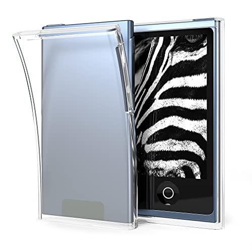 kwmobile Funda Compatible con Apple iPod Nano 7 - Carcasa Protectora Suave de TPU - Case Trasero en Transparente Mate