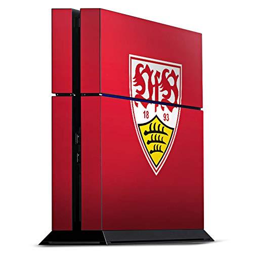 DeinDesign Skin kompatibel mit Sony Playstation 4 PS4 Folie Sticker Offizielles Lizenzprodukt VfB Stuttgart Fußball