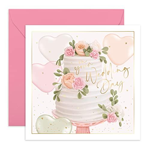 Central 23 - Tarjeta de felicitación de boda, para novio y novio...