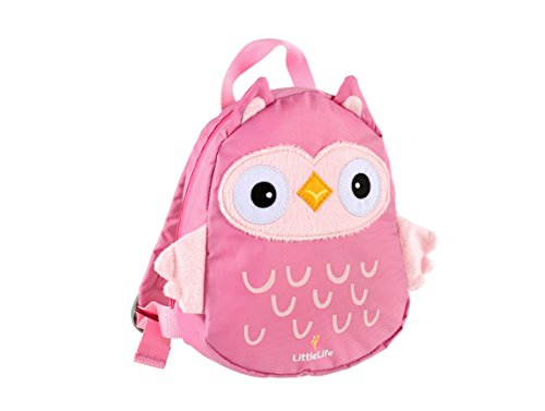 LittleLife Owl Toddler Backpack with Safety Rein, Eule, Einheitsgröße