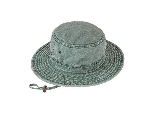 Black Jungle TIWI Zonnehoed, katoenen hoed, Fedorahut, zonwering