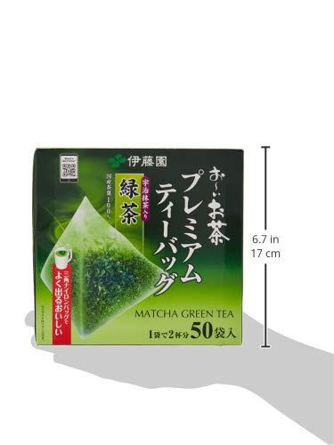 伊藤園お~いお茶『プレミアムティーバッグ宇治抹茶入り緑茶50袋』