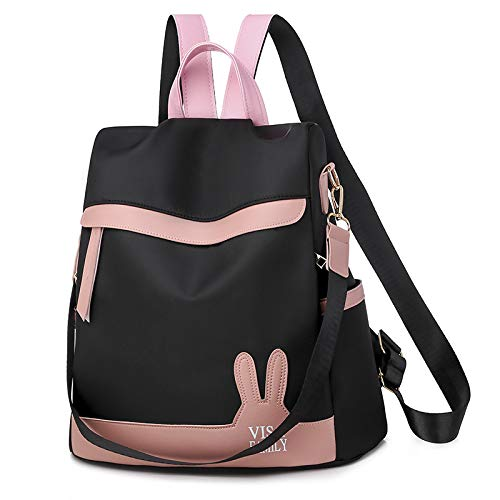 CMZ Backpack Dual-Purpose Oxford Cloth Backpack Women Wild Fashion Casual Backpack Rucksack School Bag Female Bag