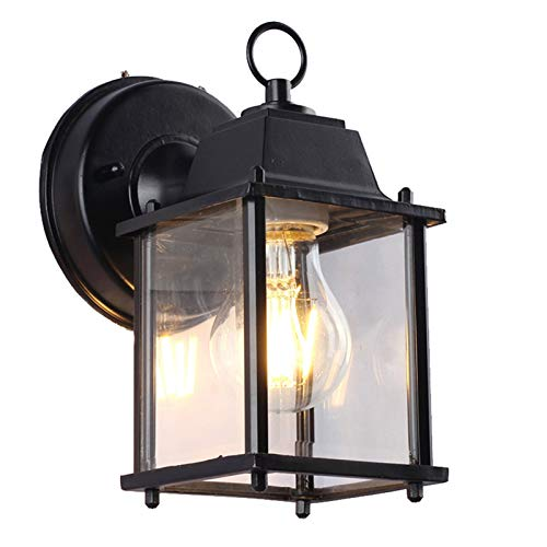 YINGYINGSM lámpara de Pared Porche Balcón Decorativo del hogar LED Resistente al Agua por la Noche Exterior Ligero de la Pared del Pasillo Lámpara de jardín Iluminación Exterior