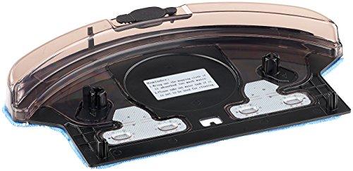 Sichler Haushaltsgeräte Zubehör zu Staubwischroboter: Wassertank und Boden-Wischtuch für Staubsauger-Roboter PCR-3550UV (Saugroboter)