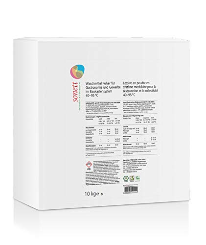 Sonett Waschmittel Konzentrat Pulver Gastronomie und Gewerbe 10 kg