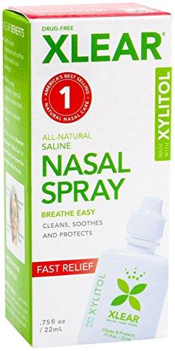 Xlear Saline Nasal Spray with Xylitol - 0.75 oz