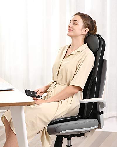Naipo Sedile Massaggiante Shiatsu Massaggiatore Schiena con...