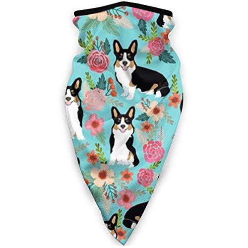Emonye Unisex Banda,Fantasy Dogs Pugs Flowers Patterns Head Banda,Good Look Headwear Headband for Soccer Unisex&Adult,24x52cm