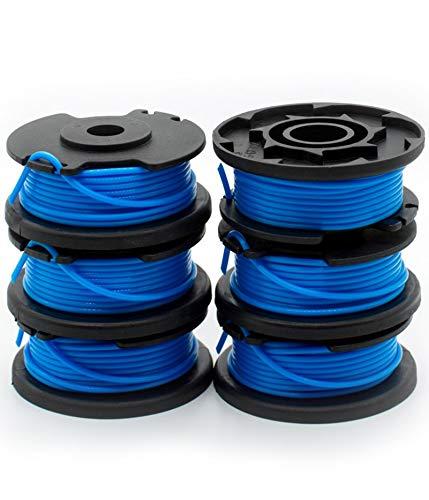 "Garden Ninja 0.065"" Replacement Trimmer Spool Compatible Ryobi One+ AC14RL3A (6 - Spool)"