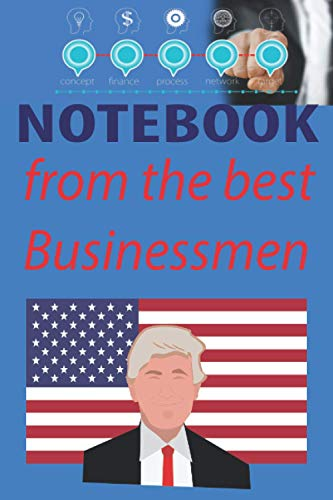 Notebook from the best businssmen: professional notebook for future or businessemen , writing and cecevoire , Diary and greeting card unique alternative paperback