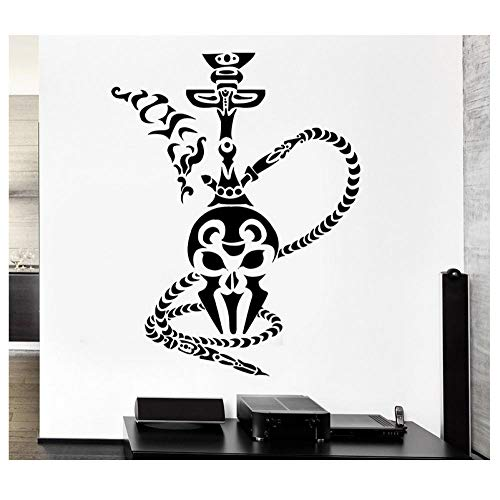 Kaffee Shisha Wandaufkleber Shisha Rauch Rauchen Arabisch Cafe Vinyl Aufkleber Dekoration Wohnzimmer Abnehmbare Kunst