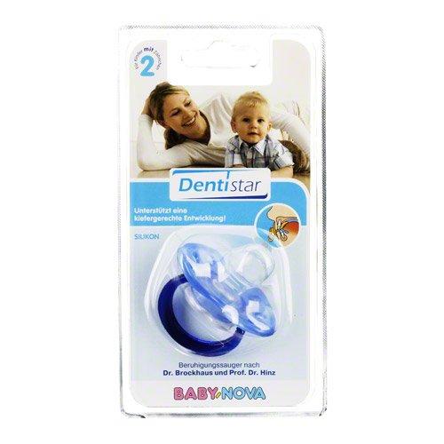 DENTISTAR BS Silikon mit Ring Babys mit Zähnen 1 St