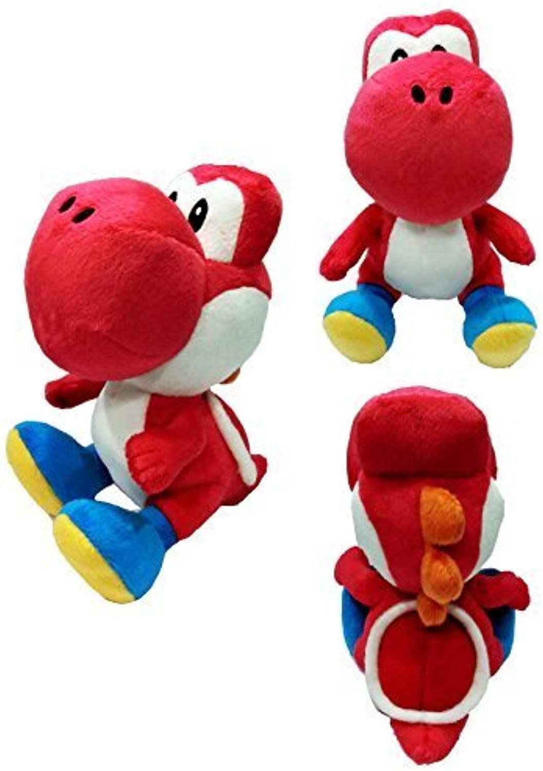 Sanei Super Mario Series 7  Red Yoshi Plush
