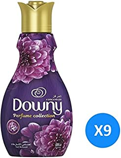 Downy Perfume Collection Concentrate Fabric Softener Feel Relaxed, 880ml 9 Pcs