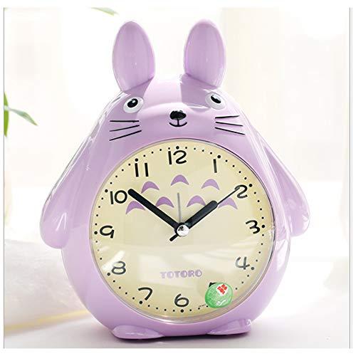 HEA GH Cartoon Totoro wekker voor kinderen slaapkamers, nacht licht klok beste cadeau voor kinderen