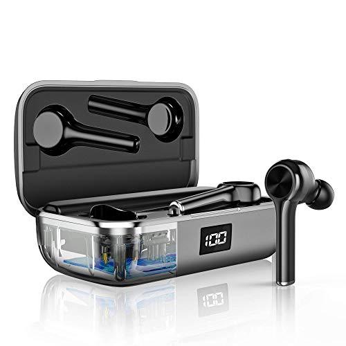 Auriculares inalámbricos Bluetooth 5.0, Reducción de Ruido en Llamadas CVC8.0 y Micrófono HD...