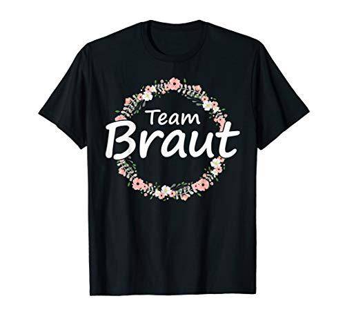 JGA Junggesellinnenabschied Team Braut Bachelorette Party T-Shirt