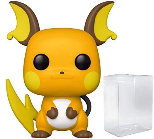 Funko Pop! Games Pokémon Raichu Figurine en vinyle avec étui de protection compatible Pop Box