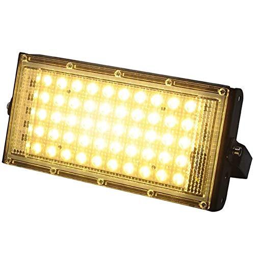 LED Hallenstrahler 50W Fluter Fabrik Hallenleuchte Für Industriebeleuchtung, 5000lm, 120 ° Abstrahlwinkel, kaltweiss Tageslichtweiß Hallenlicht 6000-6500K (Warm White)