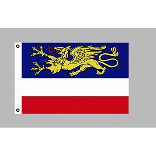 Fahne Flaggen ROSTOCK 150x90cm