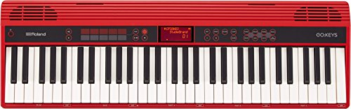 Roland GO:KEYS 61-key Music, Creation Keyboard with Integrated Bluetooth Speakers, 61Keys (GO-61K)