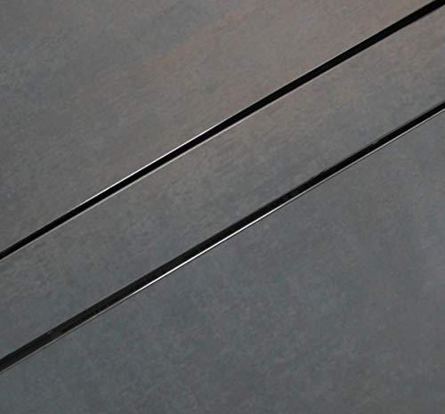 ESS Duschrinne Basic Drain 1000mm 100cm Komplett Set mit Fliesenmulde