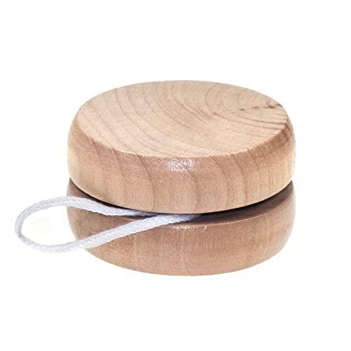 Holz-JoJo, lackiert - ein Stück
