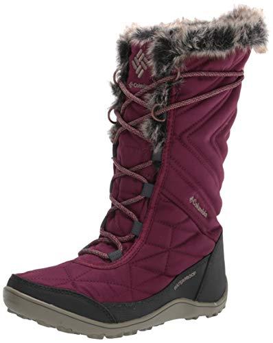 Columbia Women's Minx Mid III Snow Boot, Currant/Sage, 7.5