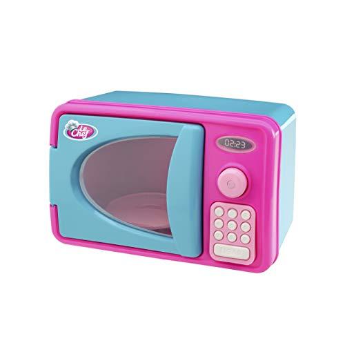 Microondas Usual Brinquedos Azul/rosa