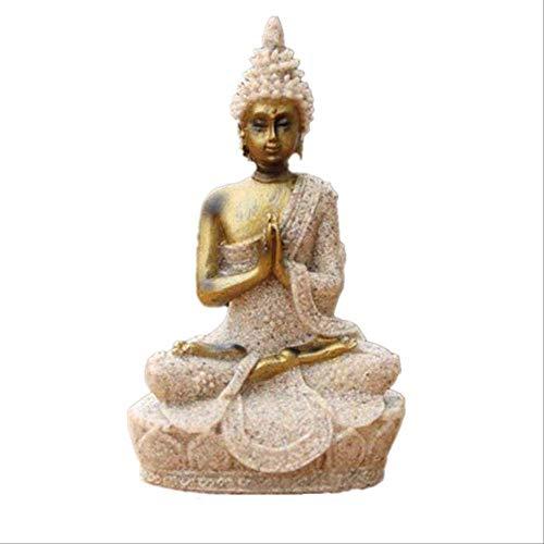 LKXZYX Boda Decoracion Buda budas Figuras de Grandes Salon candelabros Jardin Exterior...