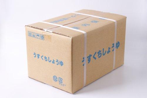 ニシキ醤油 淡雪印 混合しょうゆ JAS 上級 うすくち 業務用 5L密閉パックx4個