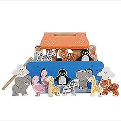 Le Toy Van Noah's Shape Sorter Ark
