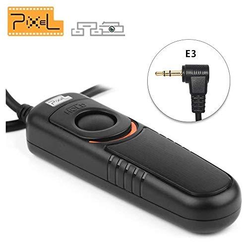 PIXEL RC-201/E3 Cable Disparador Mando a Distancia Disparador Remoto inalámbrico para...