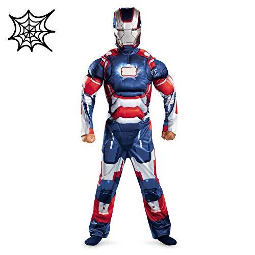 Halloween Spiderman Costume Avengers Per Bambini Infinity War Iron Man Muscle Costume Cosplay Avengers Costume,Blue-S