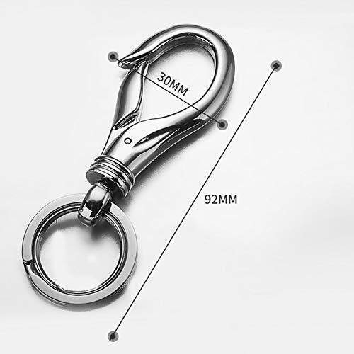 Extrbici Ciondolo Portachiavi Creativo per Portachiavi in Metallo per Uomo e Donna