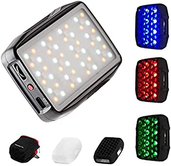 Falcon Eyes PockeLite F7 & Variable Color LED Light with Diffuser & Grid