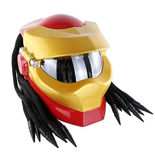 LI DANNA Predators Helm Masker Iron Man Helm Volledige Gezicht Moto Helm