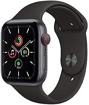 Apple Watch SE 44mm GPS & Cellular Smartwatch (Black)