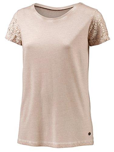 WLD Damen T-Shirt Harvest Gold, Offwhite, L