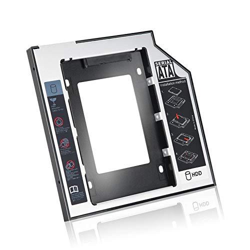 #N/V 9.5mm Universal SATA 2nd HDD SSD Hard Drive Caddy For CD/DVD-ROM Optical Bay